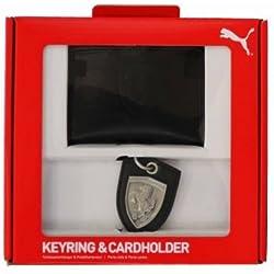 Scuderia Ferrari F1 Racing &-Portachiavi con porta carte di credito