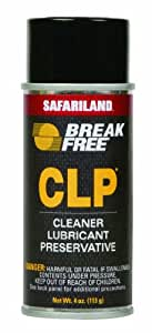 Safariland LTD, Inc. Break-Free CLP-2 Cleaner Lubricant Preservative, 4-Ounce (113.4gm) Aerosol