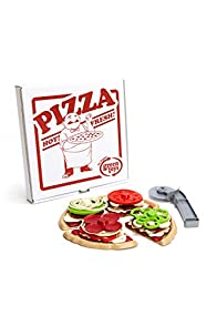 Green Toys Recycled USA made Pizza Parlor Set (Multi)
