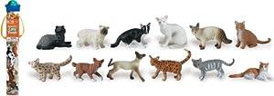 Safari Ltd Domestic Cats TOOB