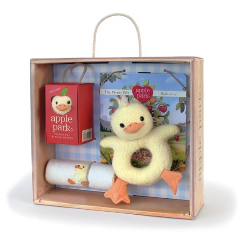 Apple Park Baby Gift Crate, Ducky
