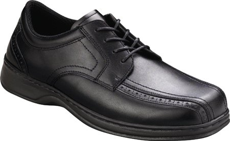 Orthofeet Men's Gramercy Lace Up Oxfords,Black,8 M