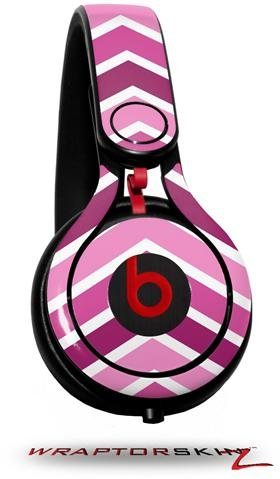 Zig Zag Pinks Decal Style Skin (Fits Genuine Beats Mixr Headphones - Headphones Not Included)