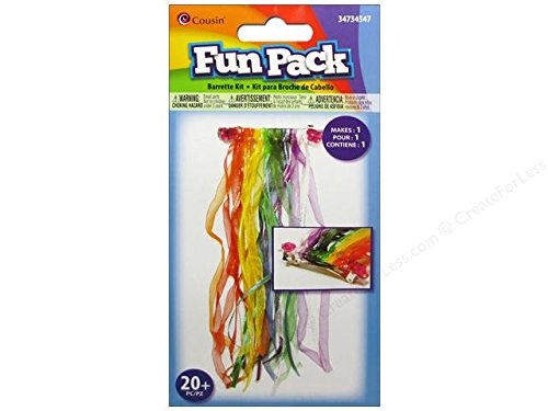 Cousin Fun Pack Kit Barrette Ribbon