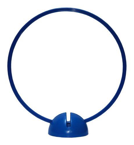 Artikelbild: Agility Hundesport - X-Standfuß, blau und Ring / Reifen Ø 50 cm, blau