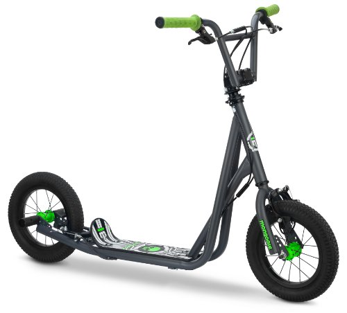 Big Save! Mongoose Kid's Air Tire Scooter, Grey