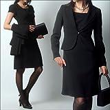 (エイメル) Amel 【ブラックフォーマル】「女優になれると噂の美喪服」テーラードジャケット×エンパイアワンピーススーツ2点セット ランキングお取り寄せ