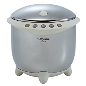 Zojirushi NS-XAC05XR Rizo Micom 3-Cup Rice Cooker and Warmer
