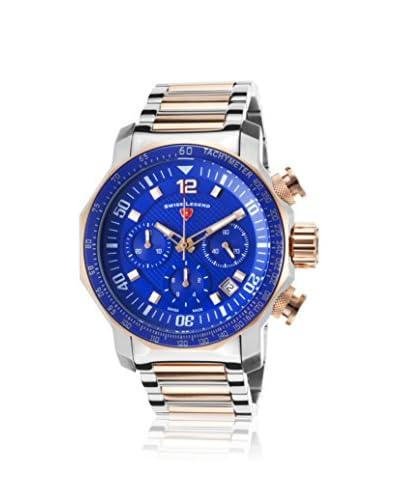 Swiss Legend Men's 16187SM-SR-33 Blue Geneve Blue/Two-Tone Stainless Steel Watch