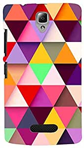 PRINTVISA Pattern Abstract Colorful Case Cover For Lenovo A2010