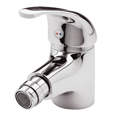 Aquations Low Flow Bidet Monobloc Tap With Single Lever And Pop Up Waste