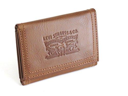 Levi's Portafoglio di colore marrone Vertical