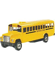 Toysmith Pull-Back School Bus, 5