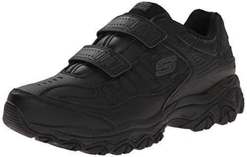 USA Skechers Sport Mens Afterburn Strike Memory Foam Velcro Sneaker Black 8.5 4E US | 11street ...