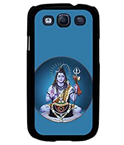 printtech Lord Shiva Om Namah Back Case Cover for Samsung Galaxy S3 Neo::Samsung Galaxy S3 Neo i9300i