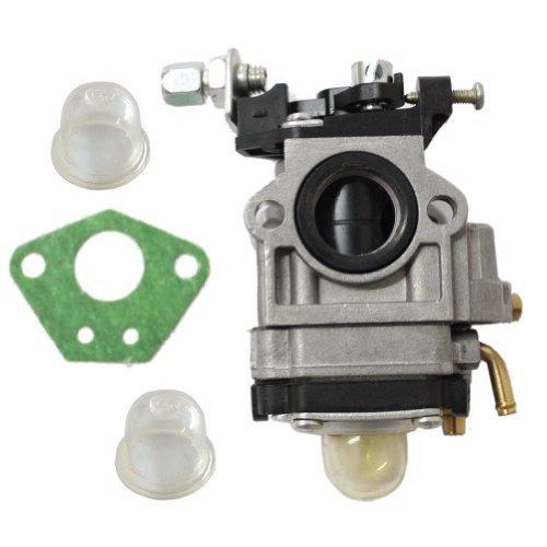 New Pack of 43cc 47cc 49cc 50cc 2 Stroke Mini Pocket Bike Chopper Atv Quad Dirt Bike Super Gas Scooter Bike 15mm Carburetor Venturi + 2 primer bulb + Gasket