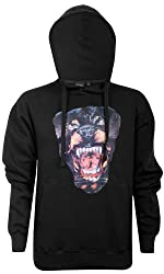 Mens Dog Print Pullover Hoodies ~ Design
