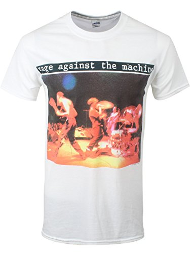 Rage Against The Machine Anger Is A Gift T-Shirt bianco XXL