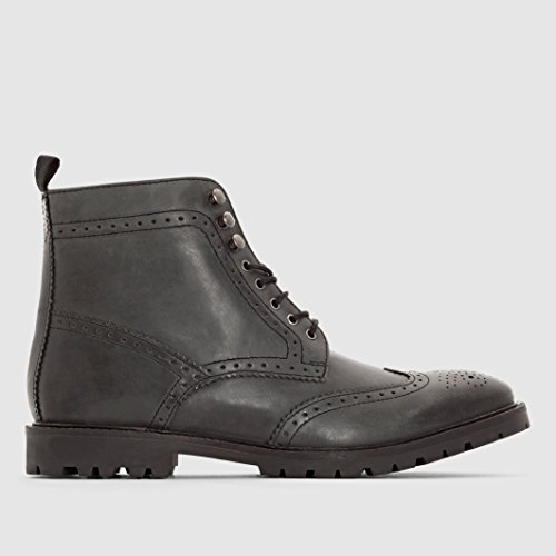 Base London Uomo Boots In Pelle Base London Troop Taglia 41 Nero