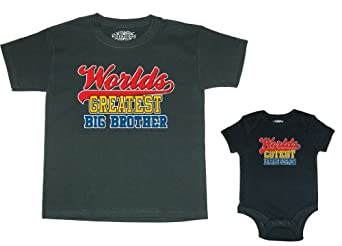 So Relative! Matching Big Brother/Little Sister T-Shirt & Newborn Bodysuit (18 Months)