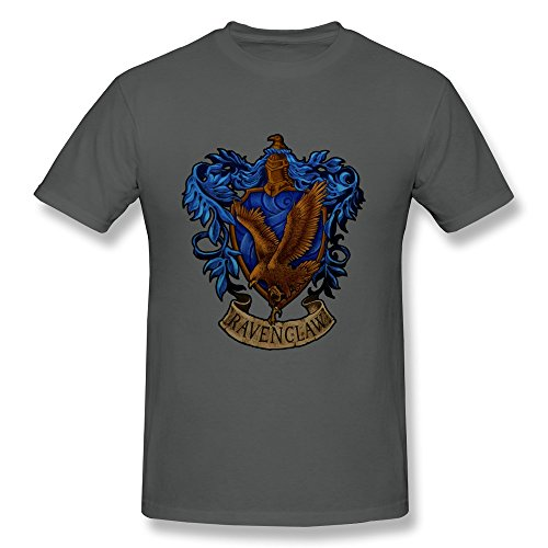[AOLiLiPO Harry Potter Ravenclaw LOGO O-Neck T Shirts For Men] (Rowena Ravenclaw Costume)