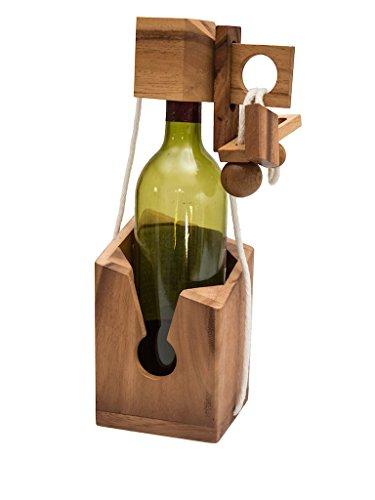 ein teuflisches seilpuzzle verpackung für weinflaschen denkspiel ...