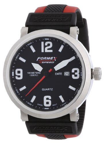 Formex 4 Speed Men's Quartz Watch TS725 72512.1070 with Rubber Strap