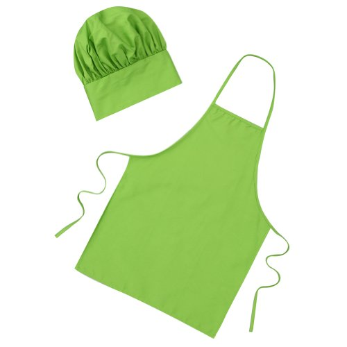 Child Green Chef Apron & Hat Small - Making Believe