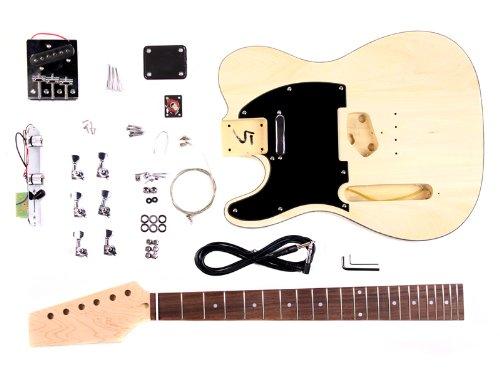 stellah gk stl 100 kit guitare 233 lectrique style t 224 monter soi m 234 me guitare pour gaucher packs