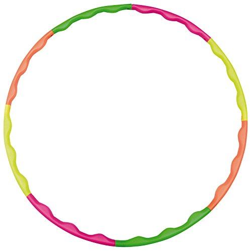 hudora-cerchi-hula-hoop-verde-grunorangegelbpink-taglia-unica