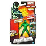 Marvel Legends 2012 Series 2 Action Figure SpiderMan Black Green Suit Arnim Zola BuildAFigure Piece NOT INCLUDED