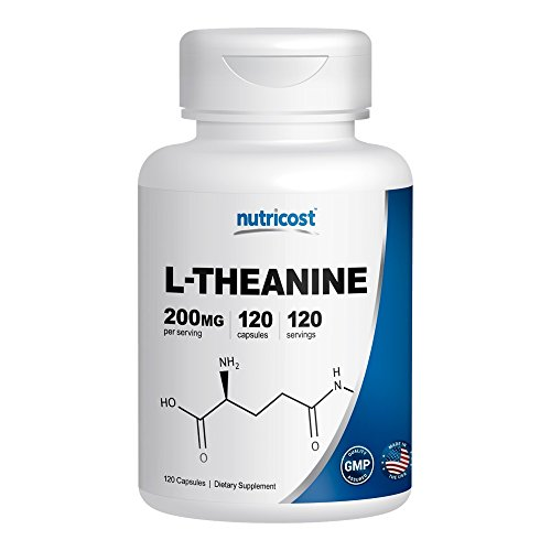 Nutricost L Theanine 200mg 120 Capsules | Gym Digest