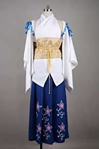 Cosplay Costume XX-Large Size FF1 YUNA Japanese