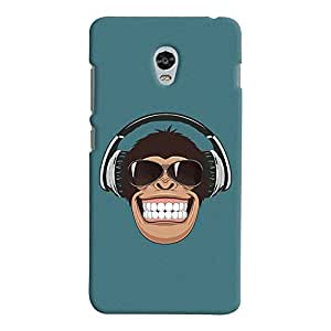 ColourCrust Lenovo Vibe P1 Mobile Phone Back Cover With Music Lover Quirky Style - Durable Matte Finish Hard Plastic Slim Case