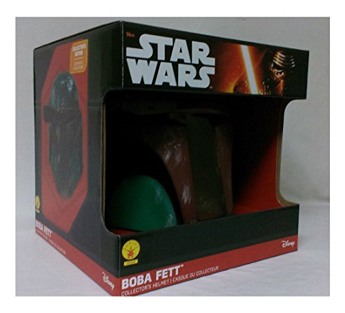 Star Wars Boba Fett Adult Collector's Helmet Mask Licensed 65004 New