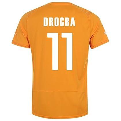 PUMA DROGBA #11 IVORY COAST HOME JERSEY WORLD CUP 2014/サッカーユニフォーム コートジボワール ホーム用 ワールドカップ2014 背番号11 ドログバ (L)
