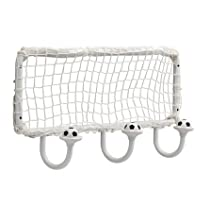 Soccer Ball and Net Storage Wall Mounted Coat Hook-Kids Room Decor