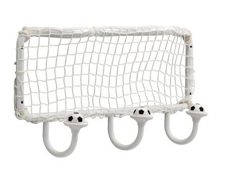 Soccer Ball Wall Mounted Coat Hook