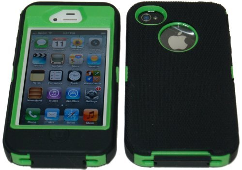 Body Armor Defender Case for iPhone 4/4S - Black