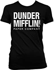 Dunder Mifflin Paper Inc Womens T-shirt, Dunder Mifflin Women's T-shirt