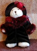 "Oksana Russ Teddy Bear Victorian Plush 7"" by Russ Berrie"
