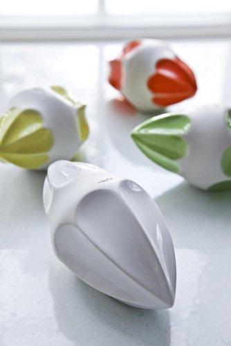 Kähler Design Dänemark - Zitruspresse Limone - Zitronenpresse, Saftpresse, gelb, Keramik