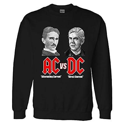 Sweater: AC VS DC Thomas Edison Nikola Tesla