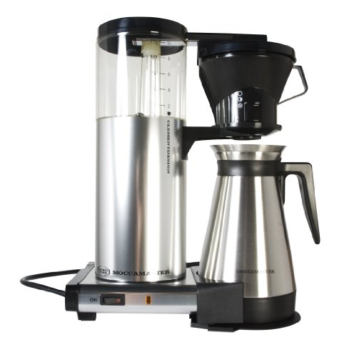 Coffee Maker Cleaning: Technivorm Moccamaster Coffee Brewer with Thermo Carafe
