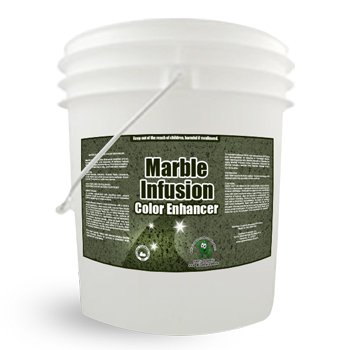 Commercial Granite Color Enhancer - Marble Infusion: Color Enhancer 5 Gallon Concentrated Formula Will Repair And Seal Marble And Other Delicates Surfaces front-494549