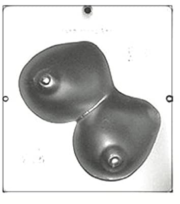 Large Set of Female Breasts XX Chocolate Candy Mold 715