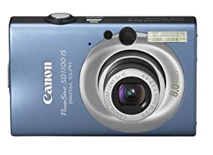 Canon PowerShot SD1100IS 8MP Digital Camera with 3x Optical Image Stabilized Zoom (Blue) (OLD MODEL)