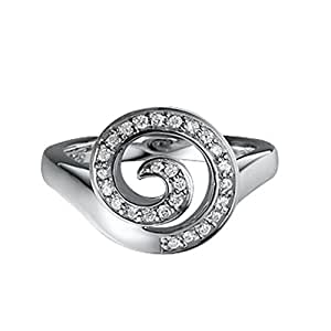 Pierre Cardin Damen-Ring Fontaine Sterling-Silber 925 Gr. 54 (17.2) 41840929170