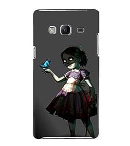 EPICCASE Scary Girl Mobile Back Case Cover For Samsung Tizen Z3 (Designer Case)