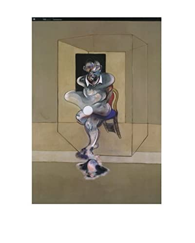 """Francis Bacon """"Dipinto (Portrait)"""" 2008 Unframed Poster, Multi"""
